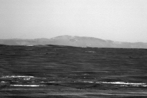 Sol 2661 Blick in Fahrtrichtung