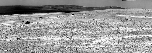 Panorama in Fahrtrichtung an Sol 2773, dem 11. November 2011