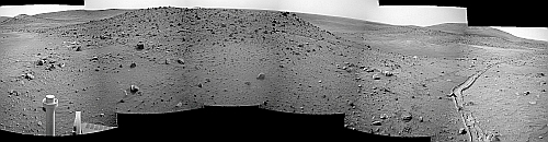 West Valley Panorama an Sol 1890