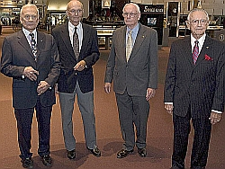 Apollo 11 Crew am 16. Juli 2009