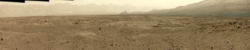 Panorama der 34 mm MastCam